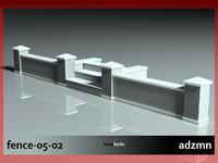 fence 3d 3ds