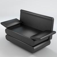 3d armchair 5