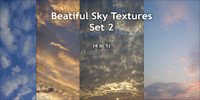 Beatiful Sky Textures (4 in 1). Set 2