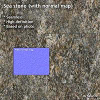 Sea stone (+ normal map)