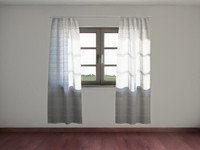 curtain rod 3d model