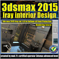 3ds max 2015 Interior Design Volume 4.0 Cd Front