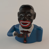 3d model jolly money bank