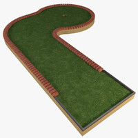 3d mini golf course