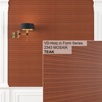 Holz in Form Mosaik Texture