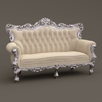 F&B Sofa (Belle de Fleur French Love Seat)