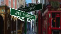 3d romantic street sign
