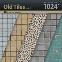Old Tiles Textures vol.1