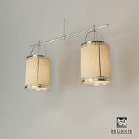 baker lyre lantern 3d model