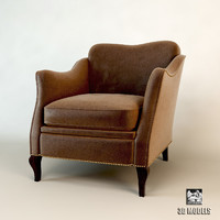 3d ceppi 2101 armchair model