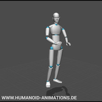 talking on lectern motion capture animation
