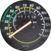 Bike Speedometer texture map