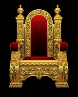royal chair armchair 3d model