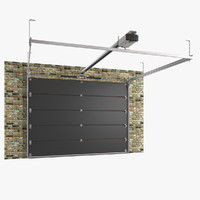 Segmented Garage Door