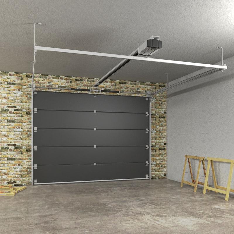 1200 #8E6A3D Segmented Garage Door 3d Model wallpaper Complete Garage Doors 36251200