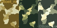 Camouflage pack