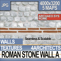 Roman Stone Wall A