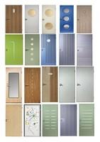 20 textures of doors