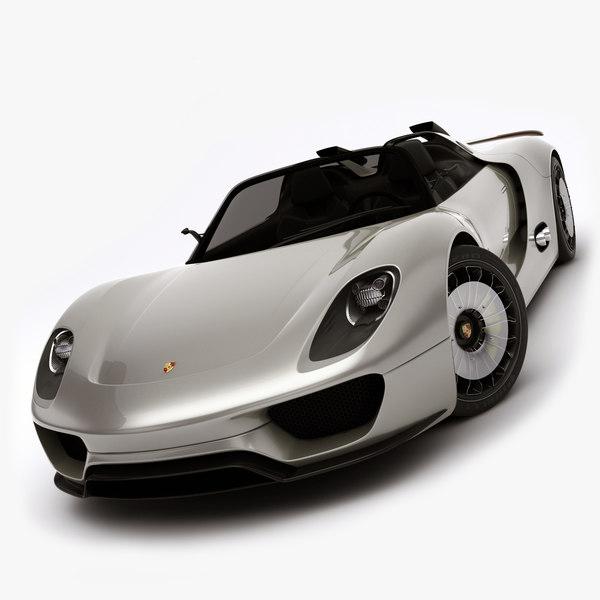 Porsche Spyder 918 Rigged