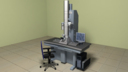 electron microscope 3D models