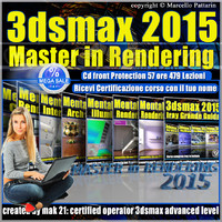 3ds max 2015 Master Rendering cd front
