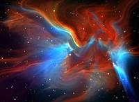 Large glowing nebula C44