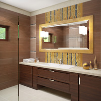 scene luxury apartment bathroom 3d max