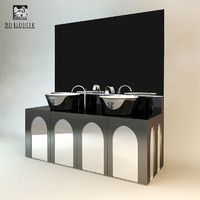3d model visionnaire coliseum washstand