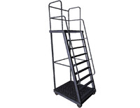 3d model black ladder