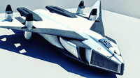 valkyrie ssto b-class shuttlecraft 3d model