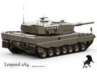 leopard 2a4 tank version max