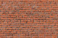 Seamless brick wall
