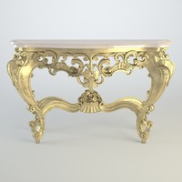 3d model console table