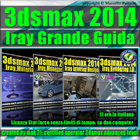3ds max 2014 Iray La Grande Guida Italiano star force unlimited