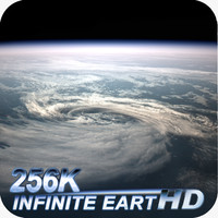 3d earth clouds 256k model