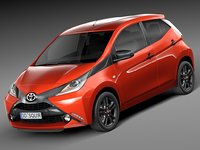 2015 toyota aygo 3d 3ds