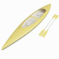 boat canoe 3ds