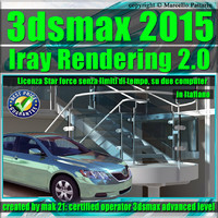 3ds max 2015 Iray Rendering e String Option Volume 2.0 star force