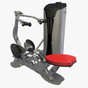 rowing machine 3D models