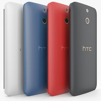 3d model htc e8 colors