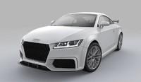 audi tt sport quattro 3d model
