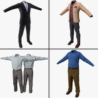 Men's Business Attire Collection