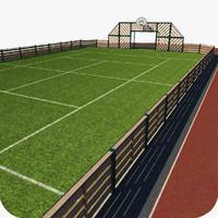 maya multisports stadium vrayfur