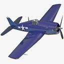 Fighter Propeller Plane 3D models