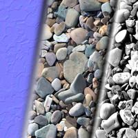 Gravel, Pebbles 1 (Tileable, seamless; Diff + Spec + Norm)