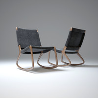 3d model rocking-chair