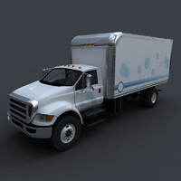 ma f750 box truck vehicle