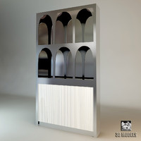 3d visionnaire wall cabinet model