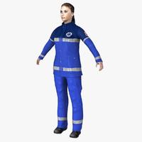 3d model paramedic ready