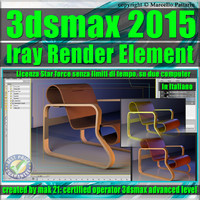 3ds max 2015 Iray Render Element Volume 1.0 star force unlimited